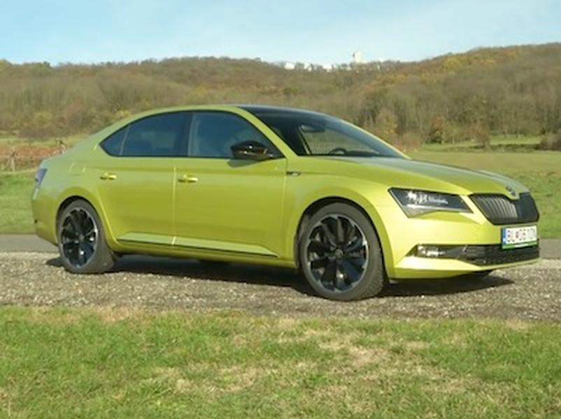 Video test Škoda Superb Sportline 2.0 TSI
