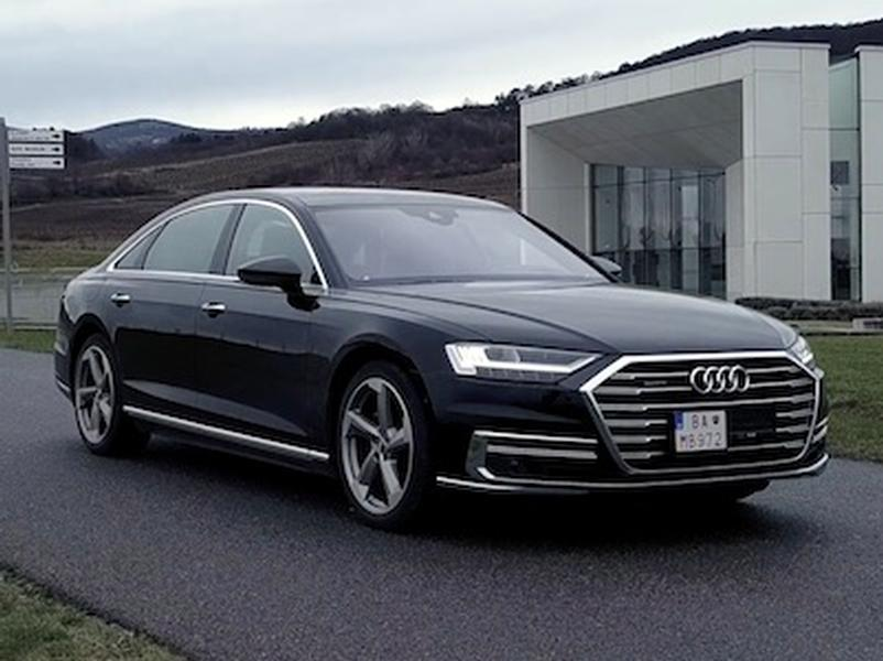 Video test  Audi A8 L 50 TDI