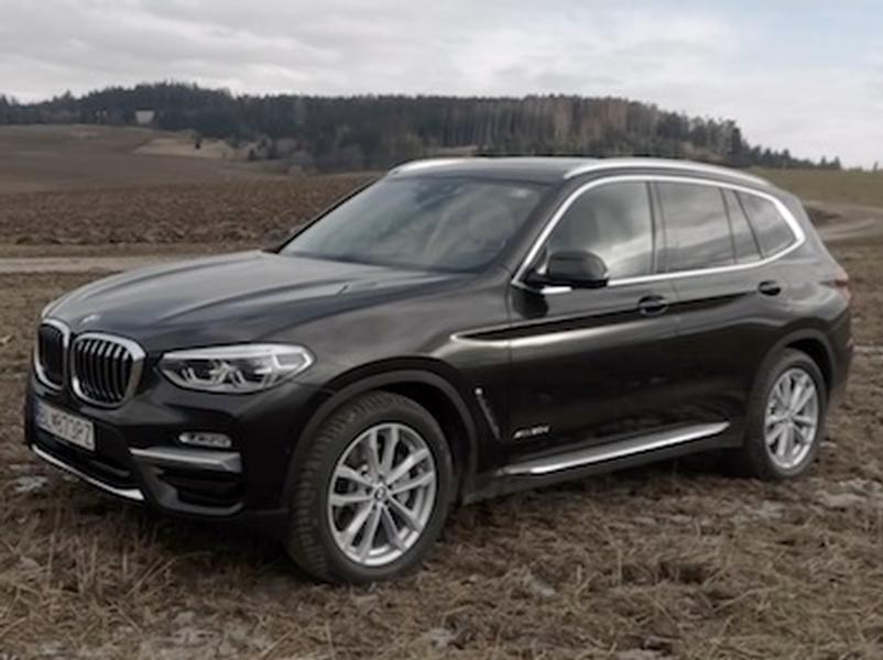 Test BMW X3 3.0d XDrive