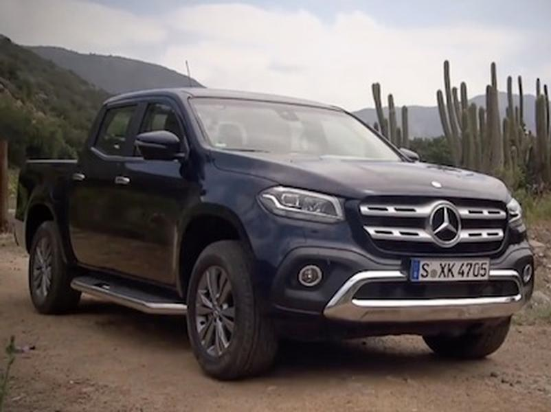 Video test Mercedes-Benz X 250D 4X4