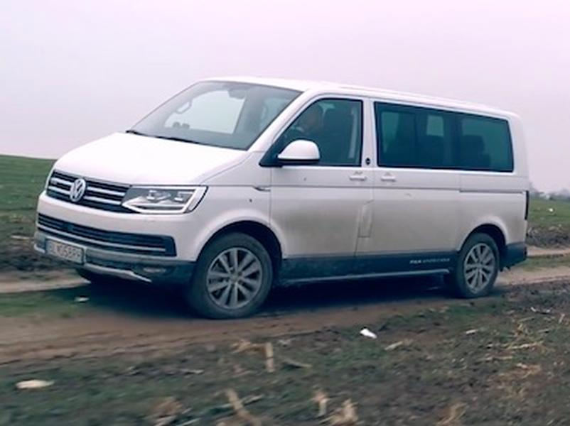 Video test Volkswagen T6 PanAmericana 4Motion