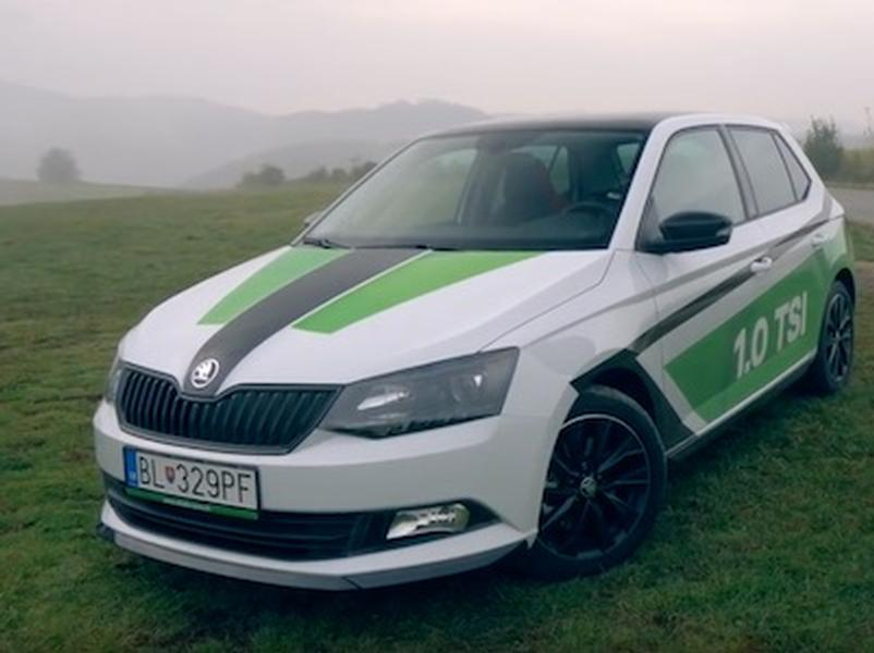 Video test Škoda Fabia 1,0 TSI Monte Carlo