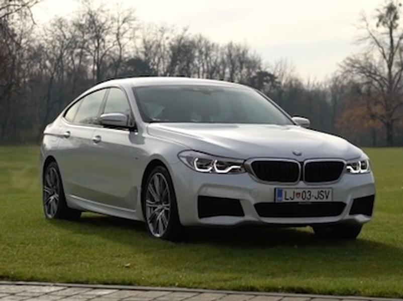 Video test BMW 6GT