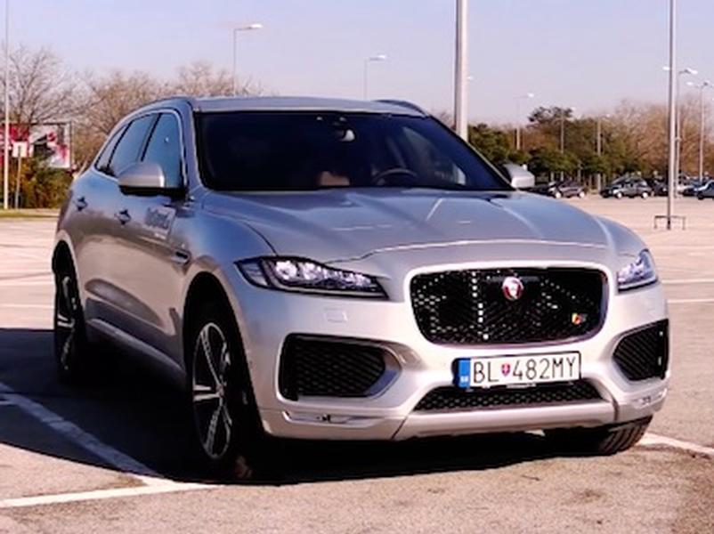 Test Jaguar F-Pace S