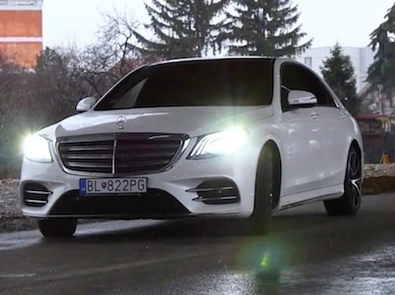 Video test Mercedes S 400d 4Matic