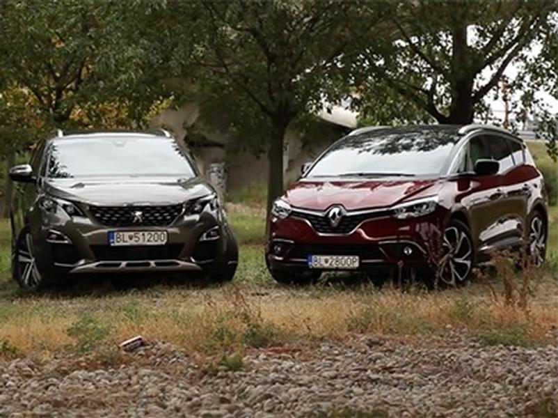Test Peugeot 5008 vs Renault Grand Scenic