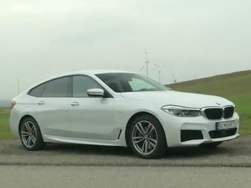 Video test BMW 6 GT