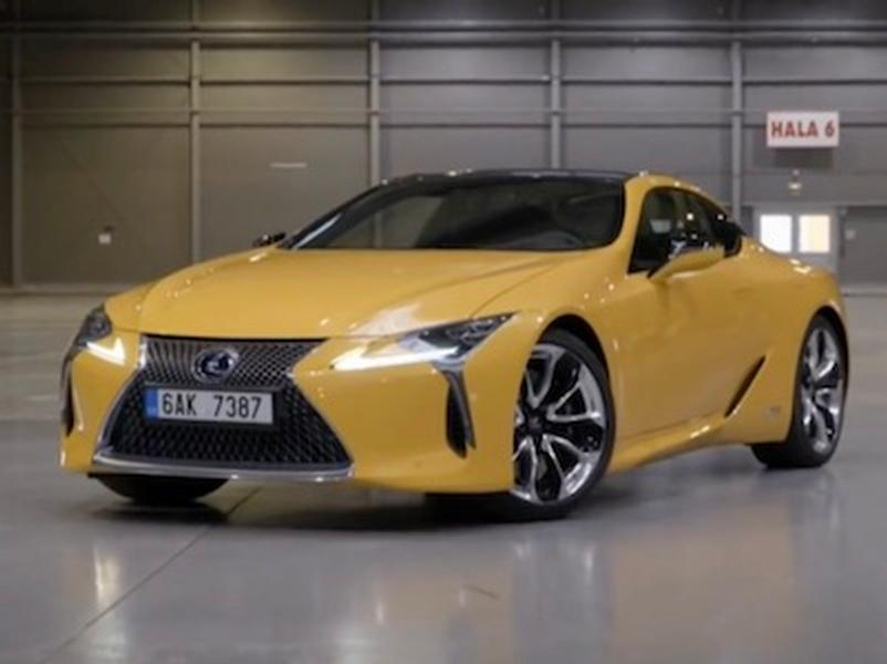 Video test  Lexus LC 500H Sport+ 3.5 V6 Hybrid