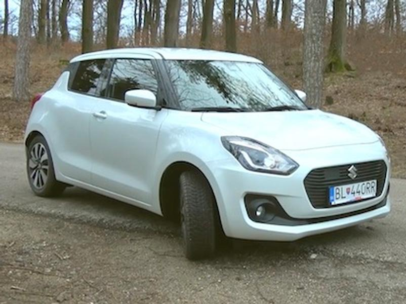 Video test Suzuki Swift Hybrid SHVS