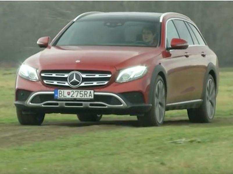 Video test Mercedes-Benz E350d All-Terrain