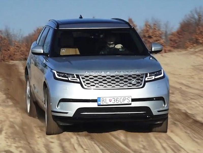 Video test Range Rover Velar 2,0 D240