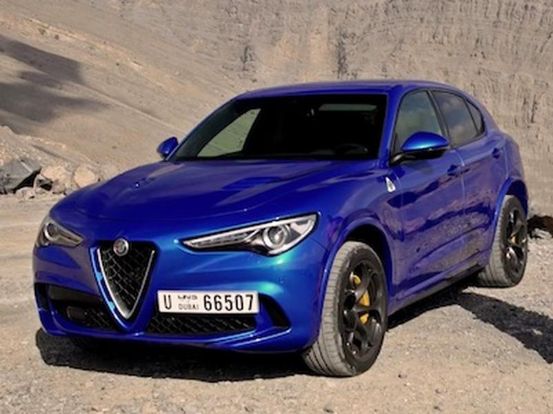 Video test Alfa Romeo Stelvio Quadrifoglio