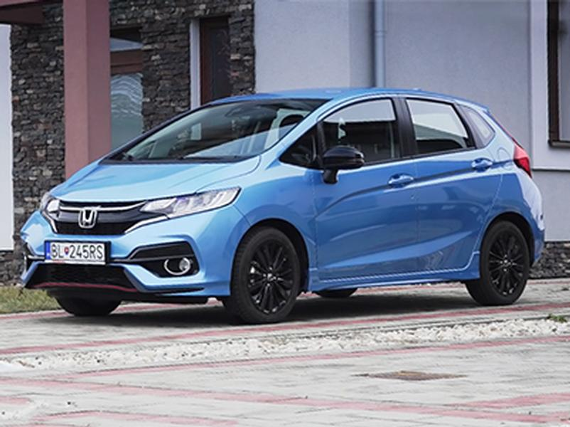 Video test Honda Jazz 1.5 i-VTEC