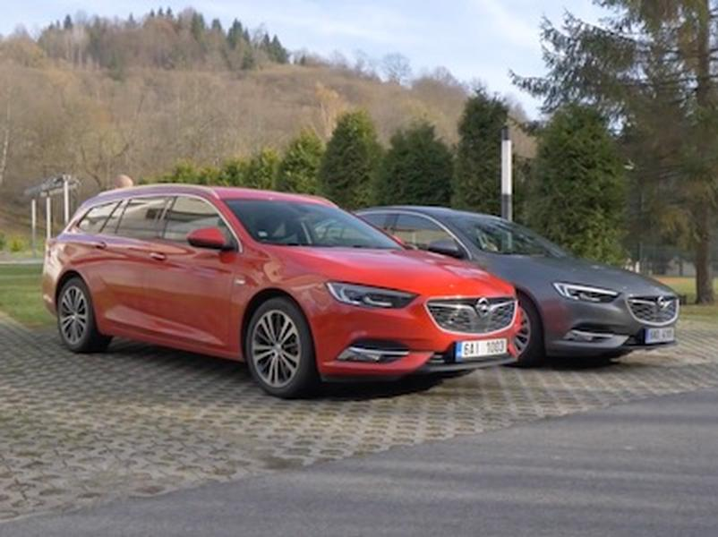 Video test Opel Insignia GS vs ST