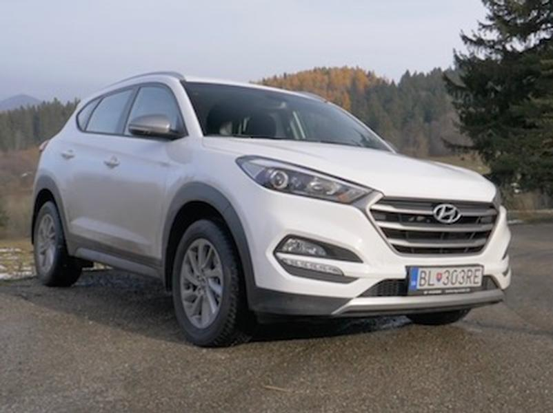 Video test Hyundai Tucson 4WD