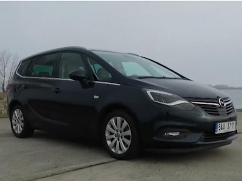 Video test Opel Zafira 2.0 CDTI