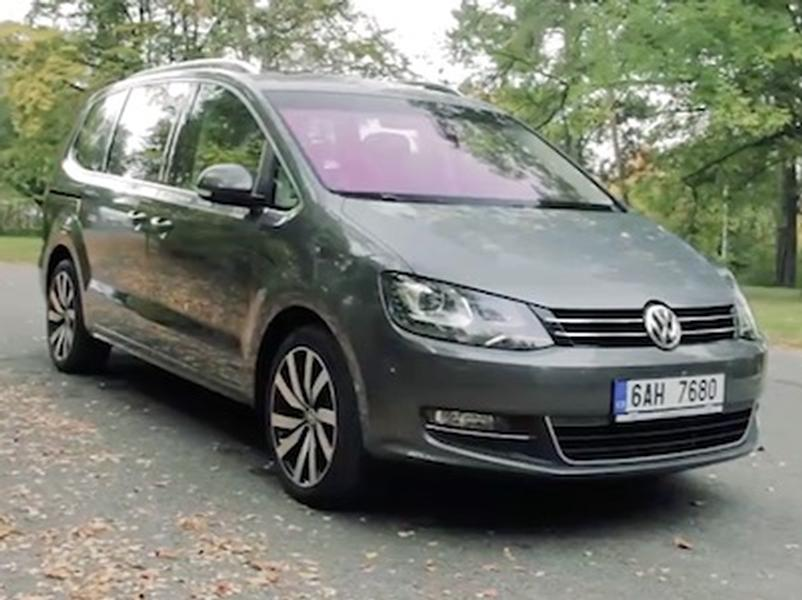 Video test Volkswagen Sharan