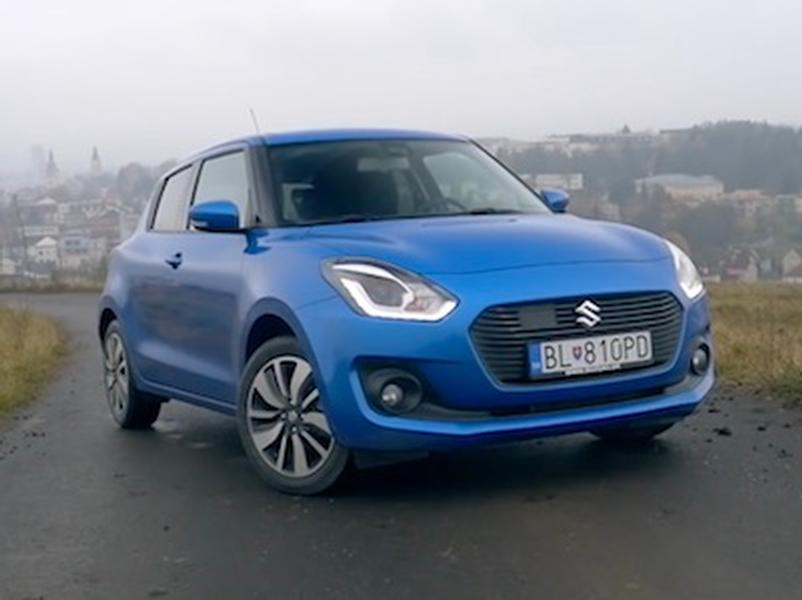 Video test Suzuki Swift 1.0 BoosterJet