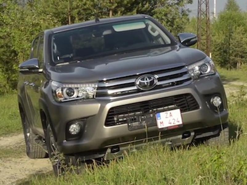 Video test Toyota Hilux 2,4 D-4D