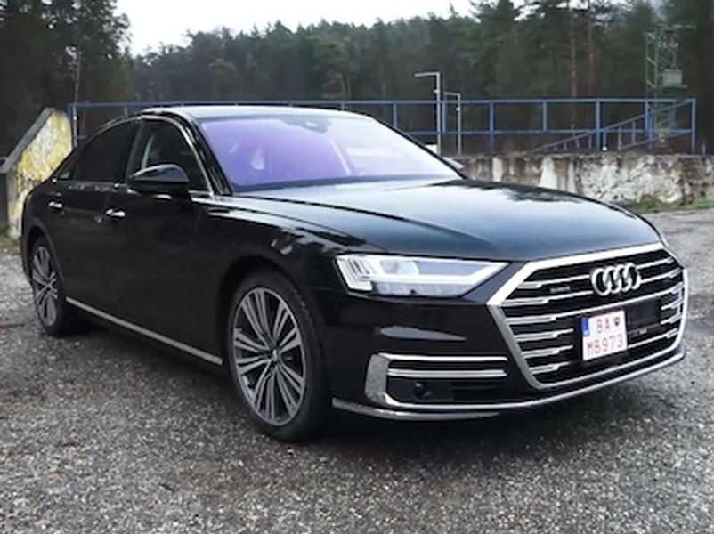 Video test Audi A8 3.0 50 TDI quattro
