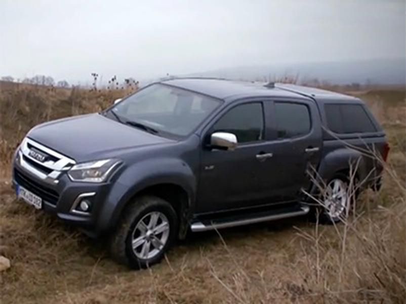 Video test Isuzu D-Max Double Cab 4WD