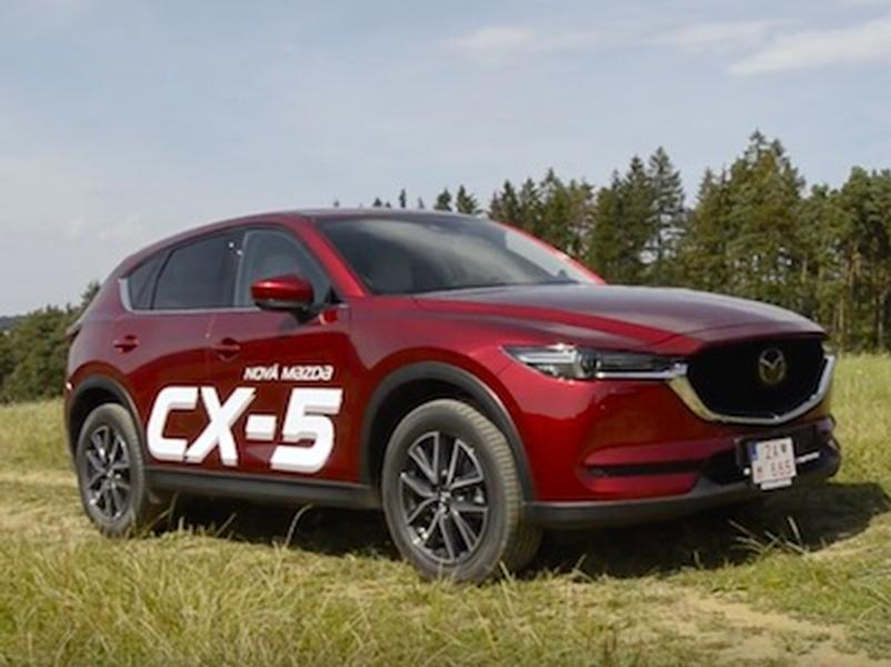 Video test Mazda CX-5 2,2 Skyactiv AWD A/T