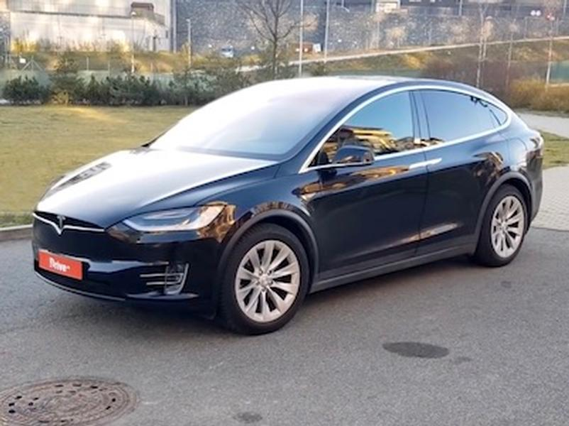 Video test Tesla Model X 90D