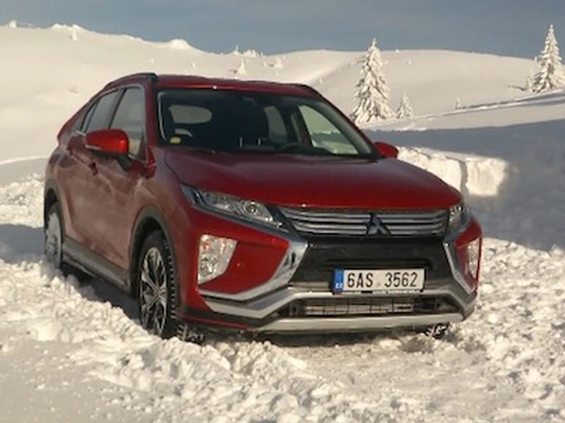 Video test Mitsubishi Eclipse Cross 1.5T MIVEC 4WD