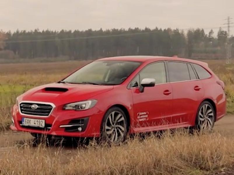 Video test Subaru Levorg