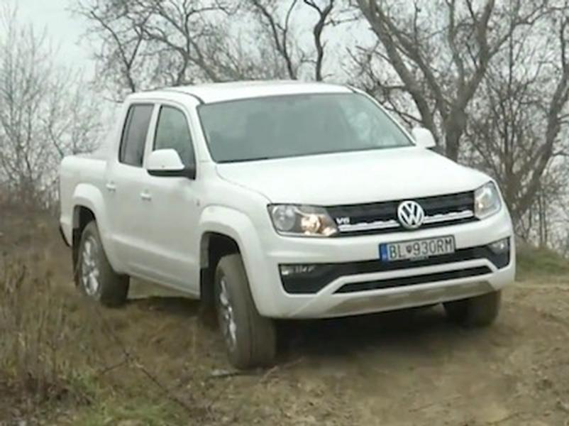 Video test Volkswagen Amarok 3.0L V6 TDI 4Motion