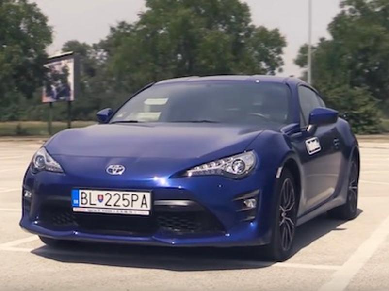Video test Toyota GT86