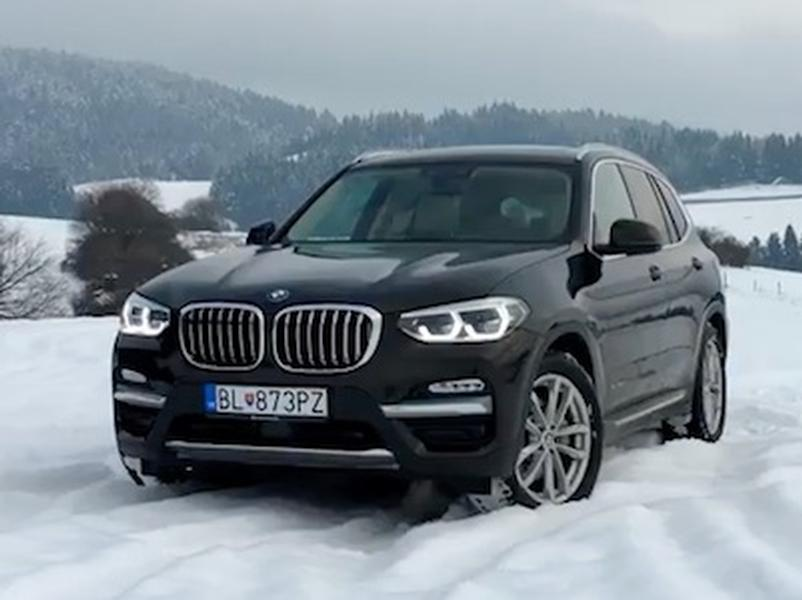 Test BMW X3 xDrive30d