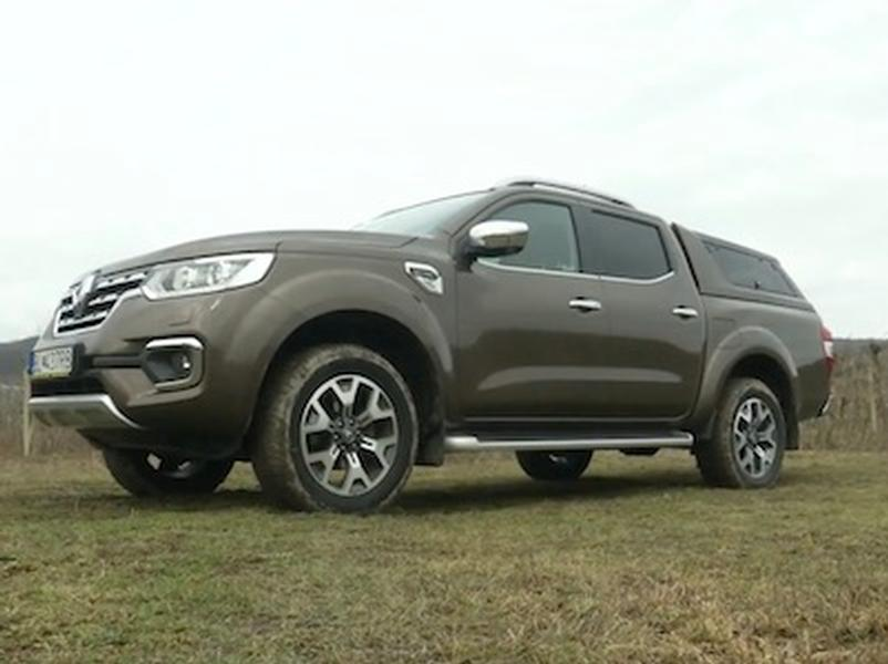 Video test Renault Alaskan Energy 190 dCI