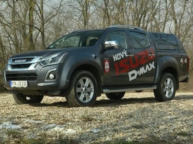 Video test Isuzu D-Max 1.9 4WD