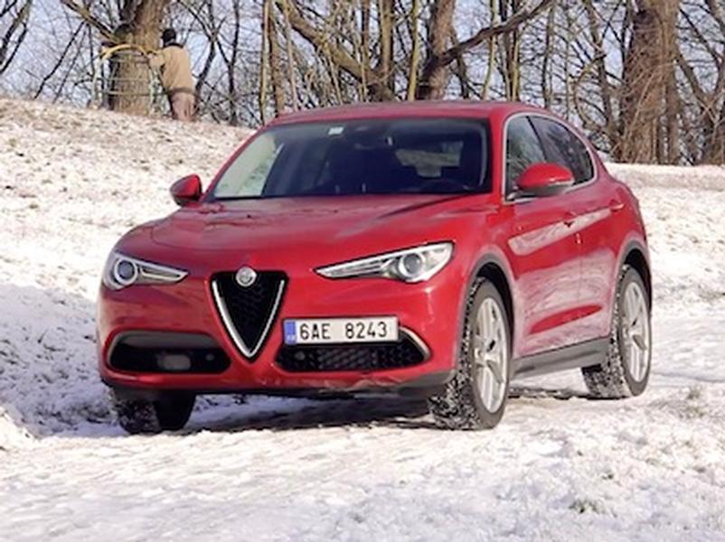 Video test Alfa Romeo Stelvio 2.0T AWD