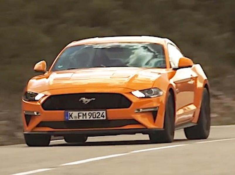 Video test Ford Mustang 5.0 V8 GT