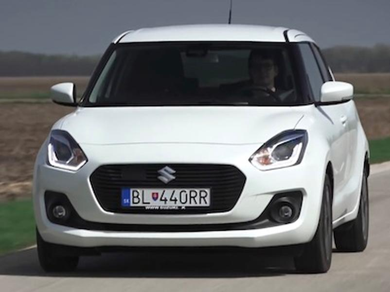 Test Suzuki Swift 1.0 BoosterJet