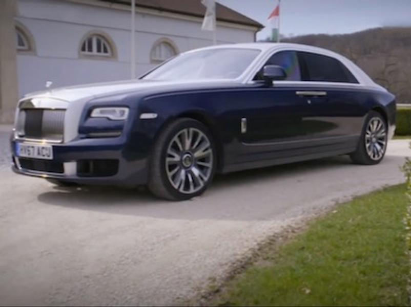 Video test Rolls-Royce Ghost II EWB