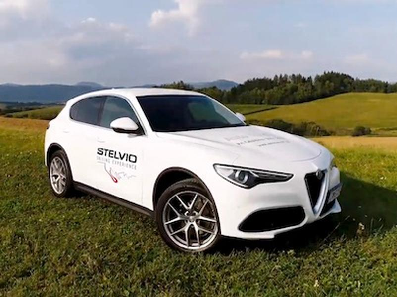 Video test Alfa Romeo Stelvio 2,0 Turbo