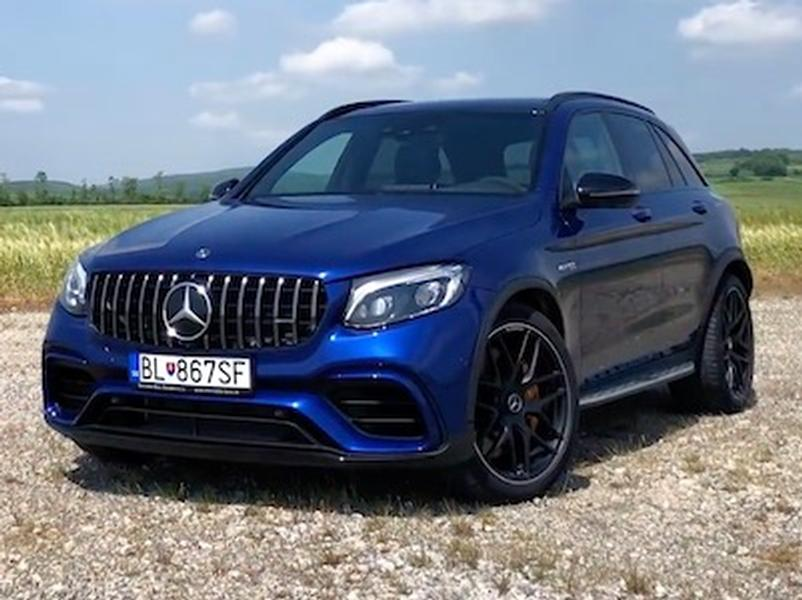 Test Mercedes-AMG GLC 63 S