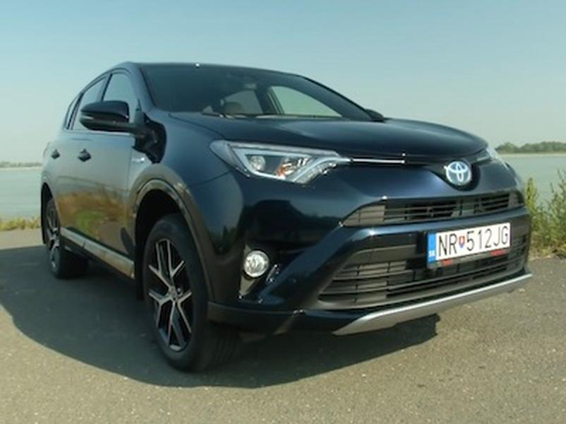 Video test Toyota RAV-4 Hybrid