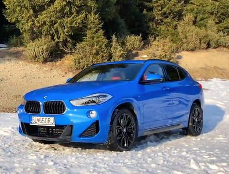 Video test BMW X2 xDrive25d