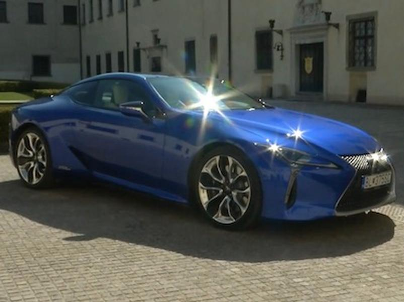 Video test Lexus LC 500h