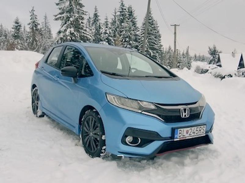 Video test Honda Jazz 1,5 i-VTEC