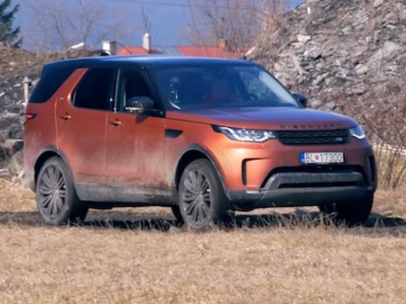 Video test Land Rover Discovery 5 - TDV6