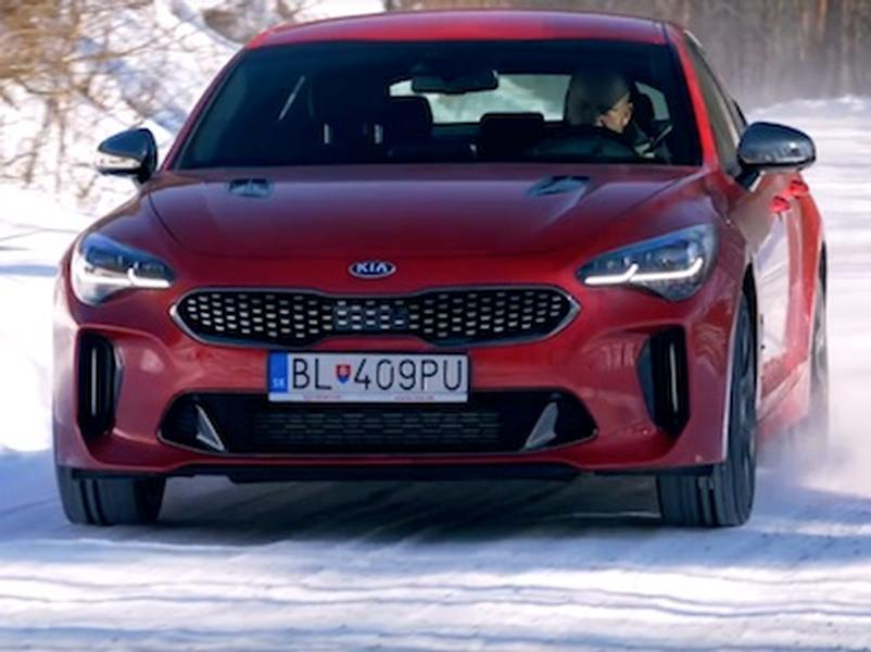 Video test KIA Stinger GT 3,3 V6 T-GDi