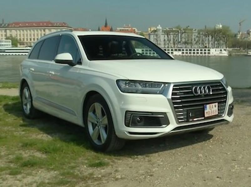 Video test AUDI Q7 e-tron
