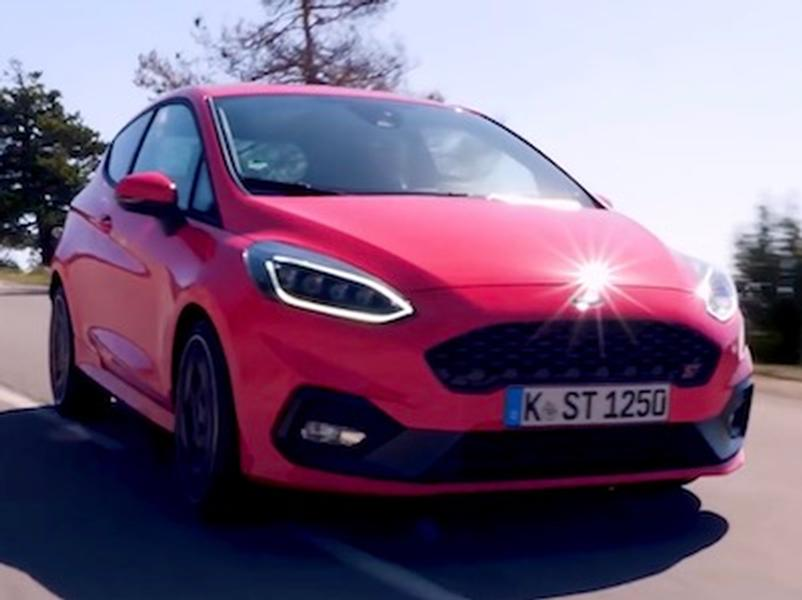 Video test Ford Fiesta ST