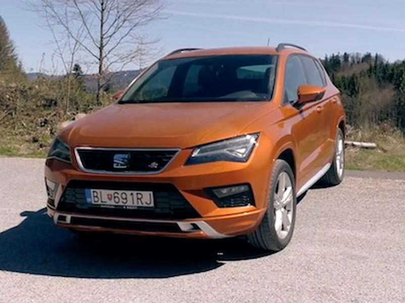 Video test Seat Ateca FR 2,0 TSI DSG 4Drive