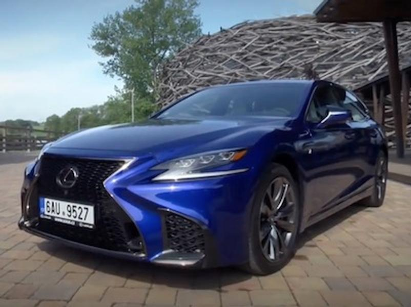 Video test Lexus LS 500 F Sport